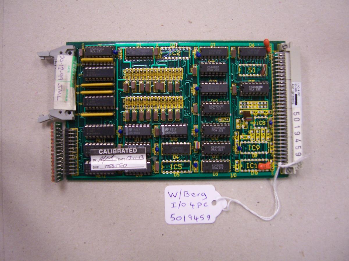 Wohlenberg I/O 4PC Card