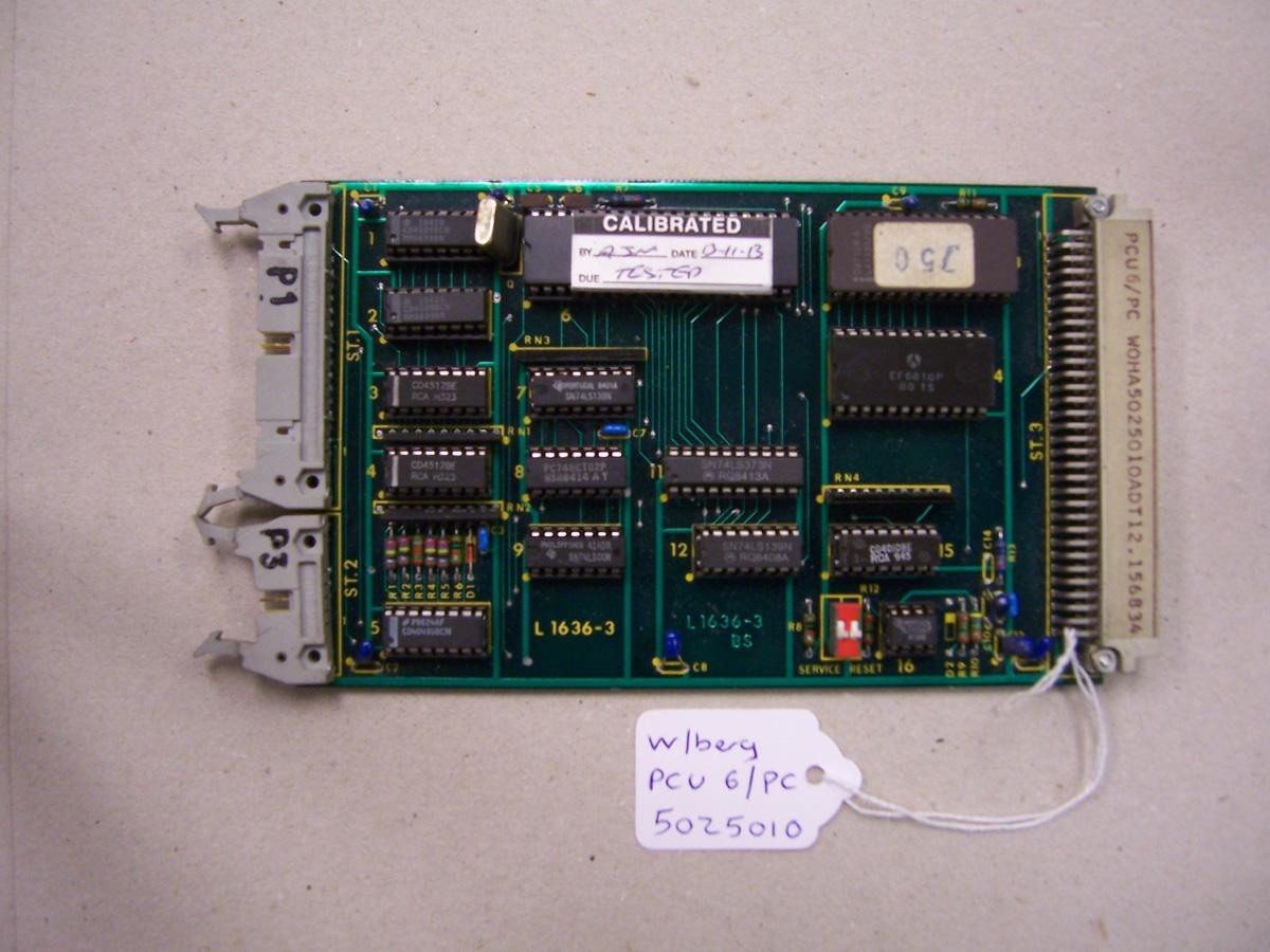 Wohlenberg PCU 6/PC Card