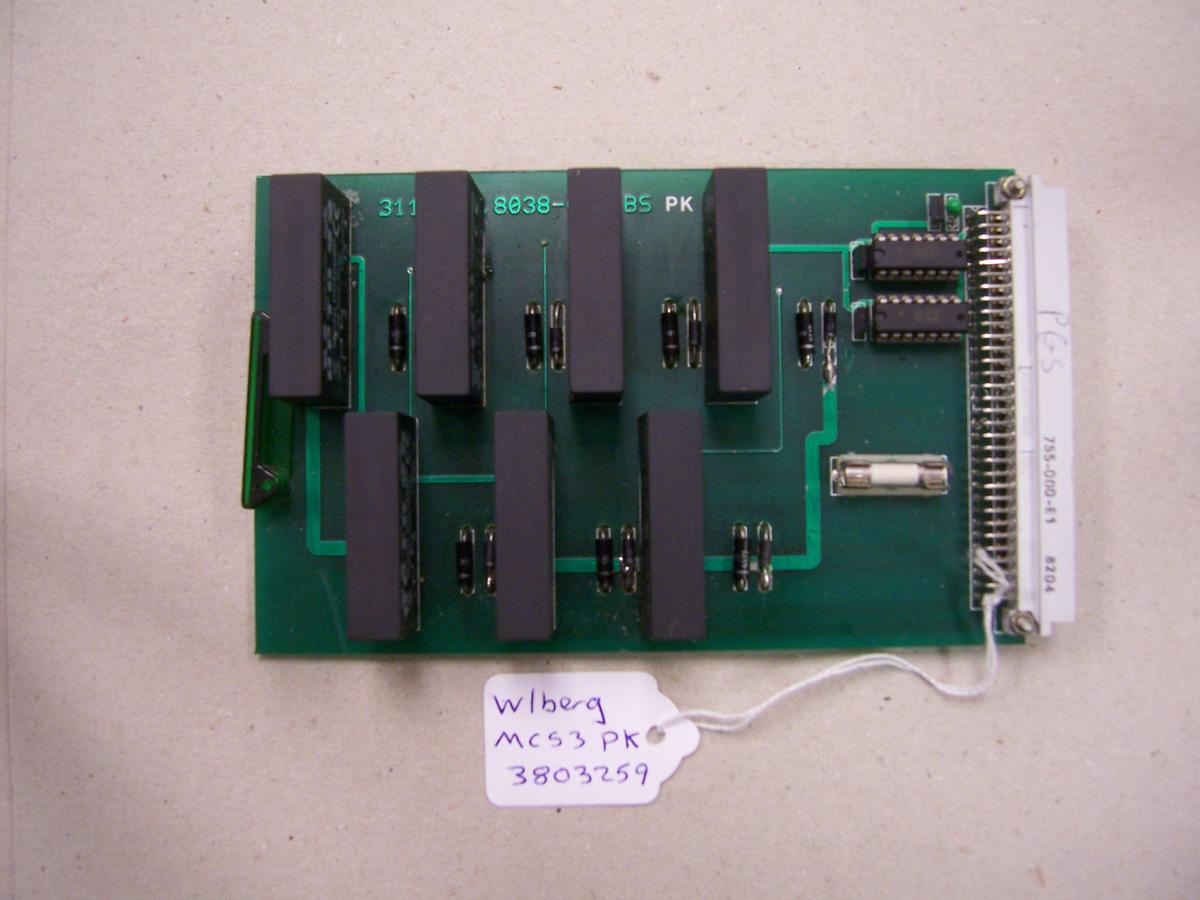 Wohlenberg MCS3 PK Card