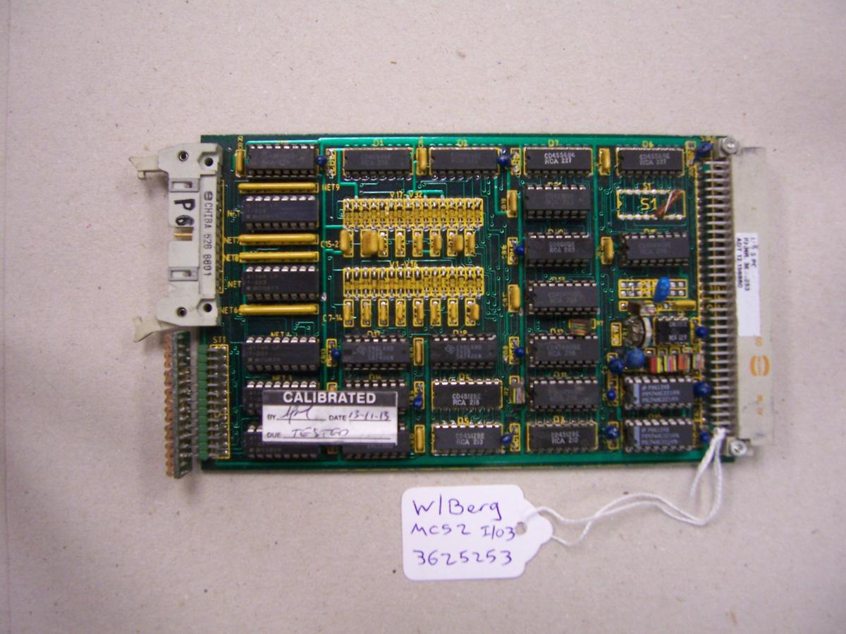 Wohlenberg MCS2 I/O3 Card