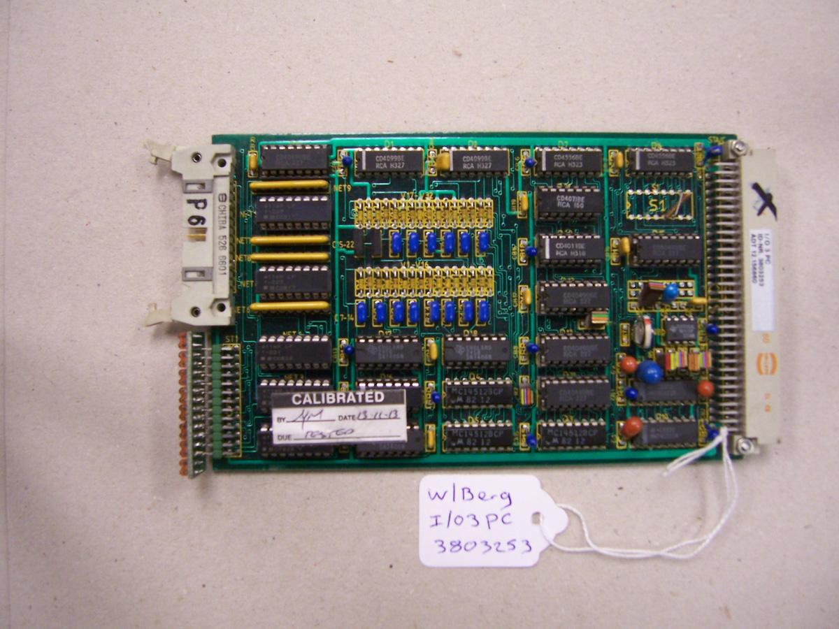Wohlenberg I/O3 PC Card