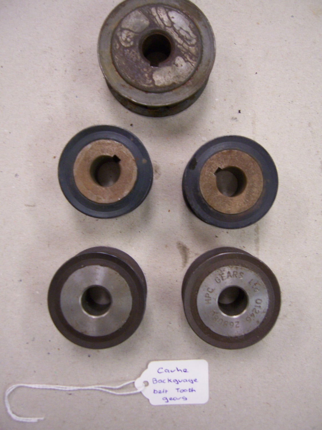 Cauhe Backguage Belt Tooth Gears