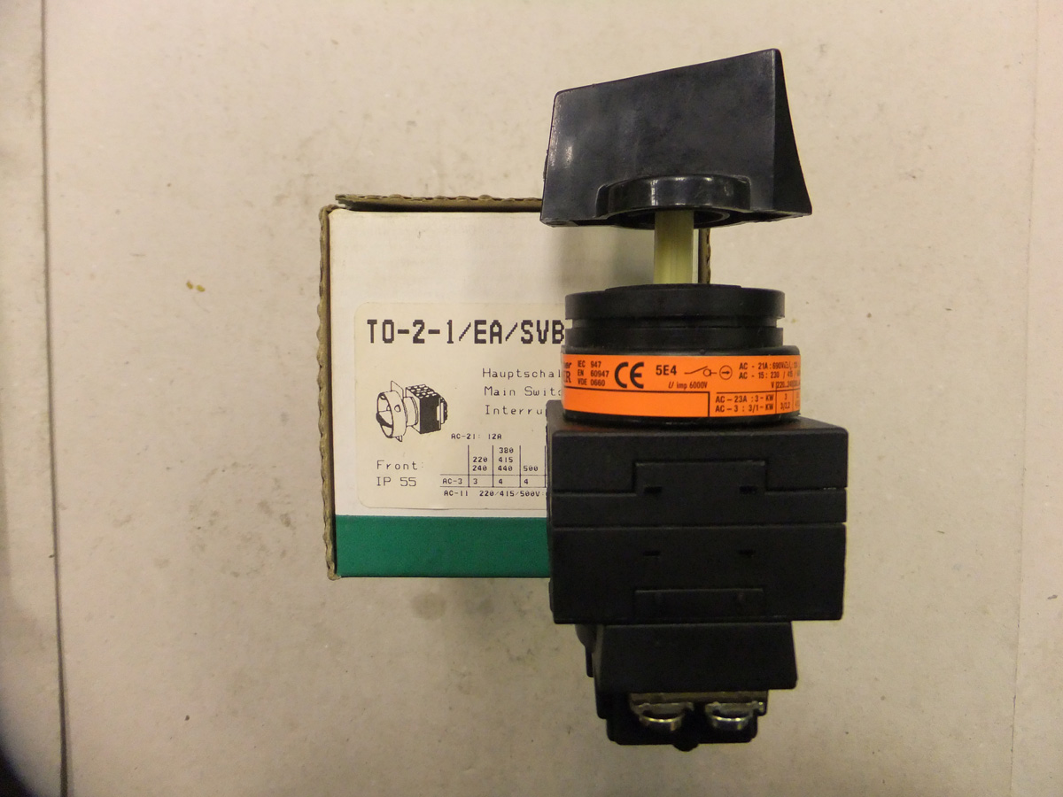 Klockner Moeller Main Isolator