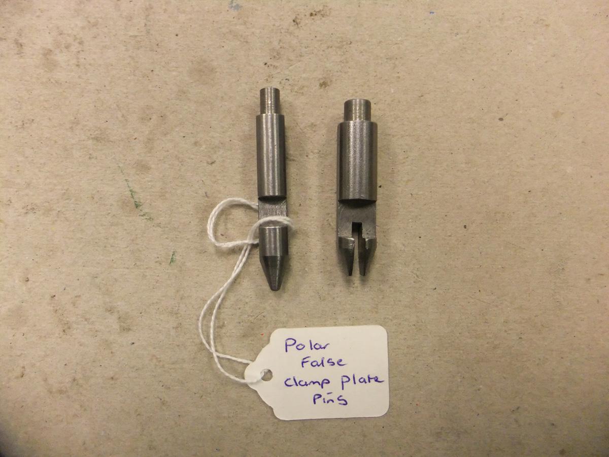 Polar False Clamp Plate Pins