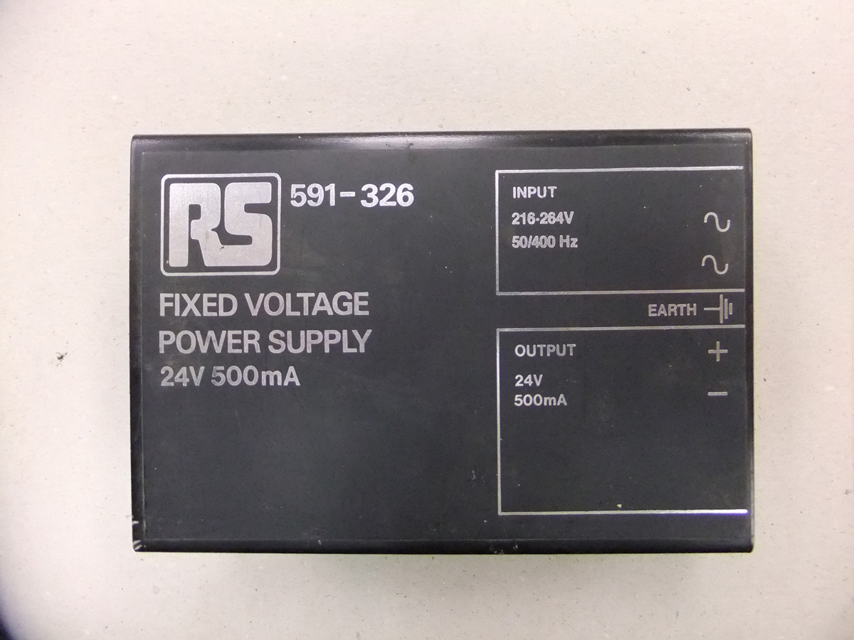 RS 24v 500ma Power Supply
