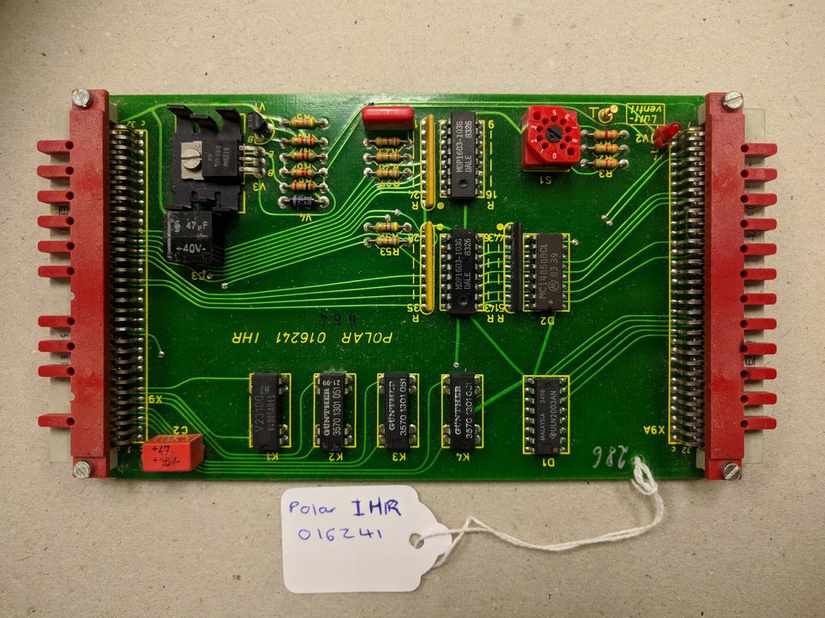 Polar 1HR card