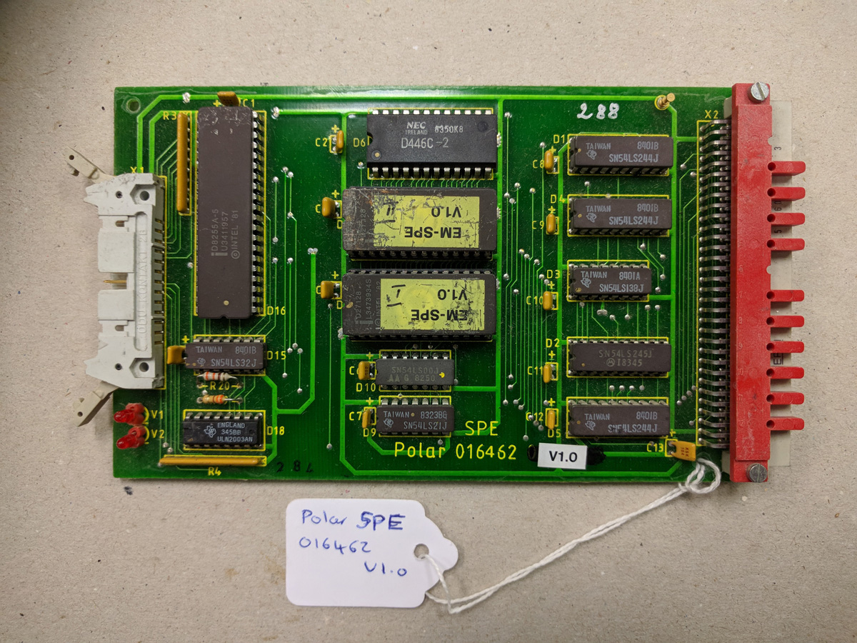 Polar SPE card
