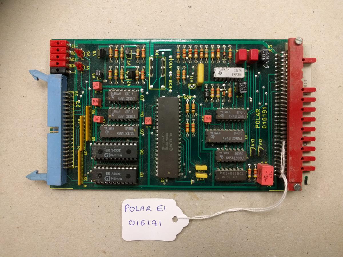 Polar E1 card