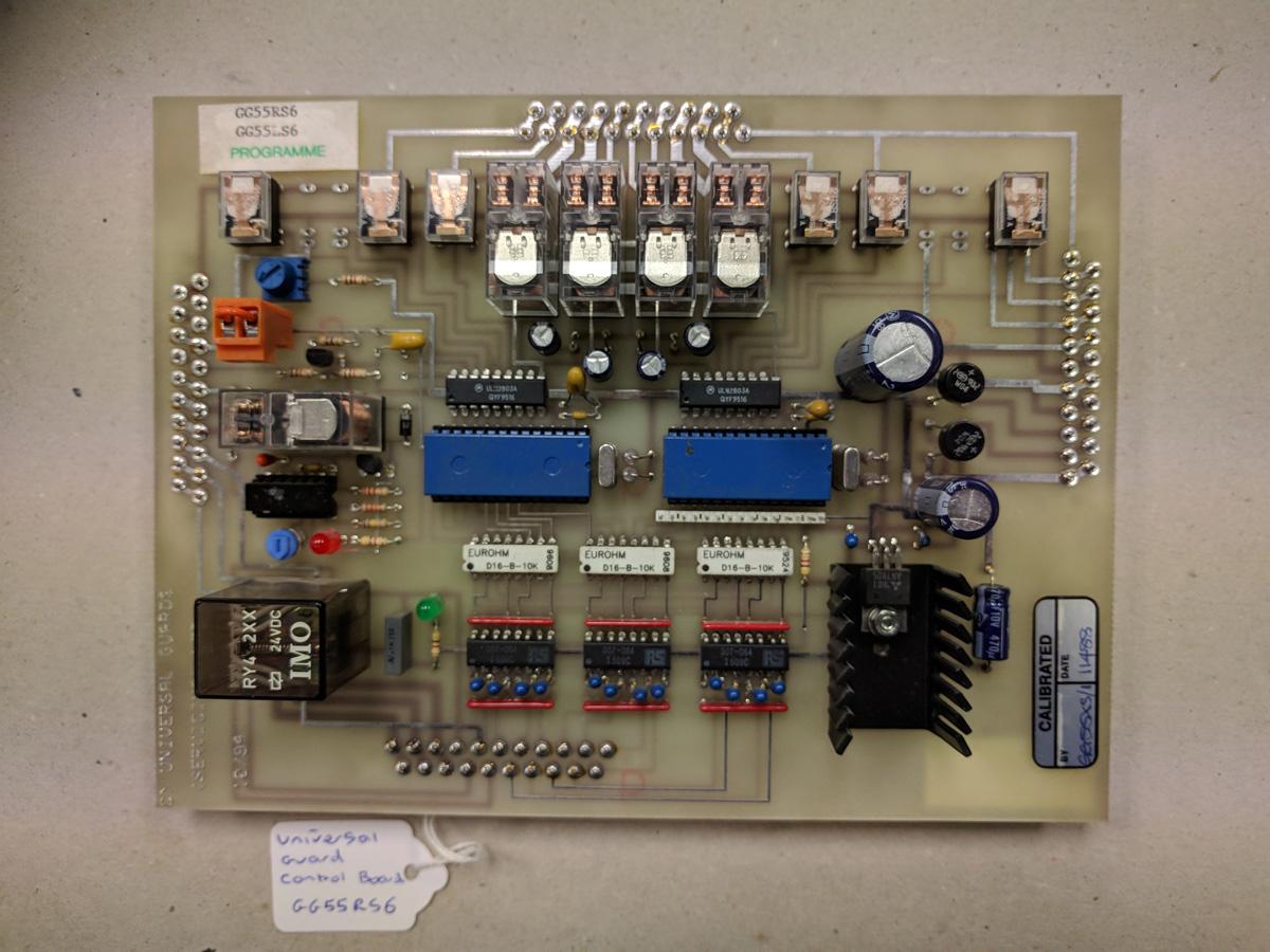 Universal Guard Control Board