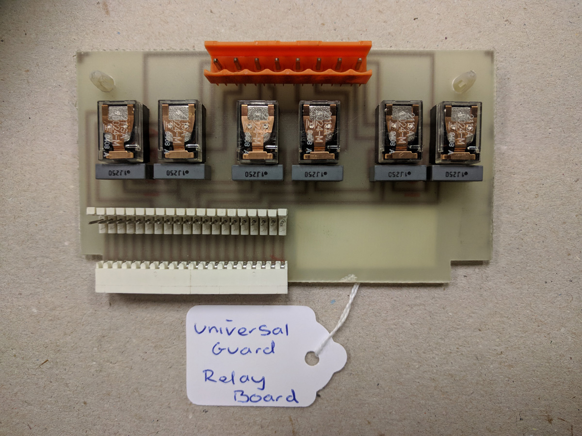 Universal Guard Relay Board