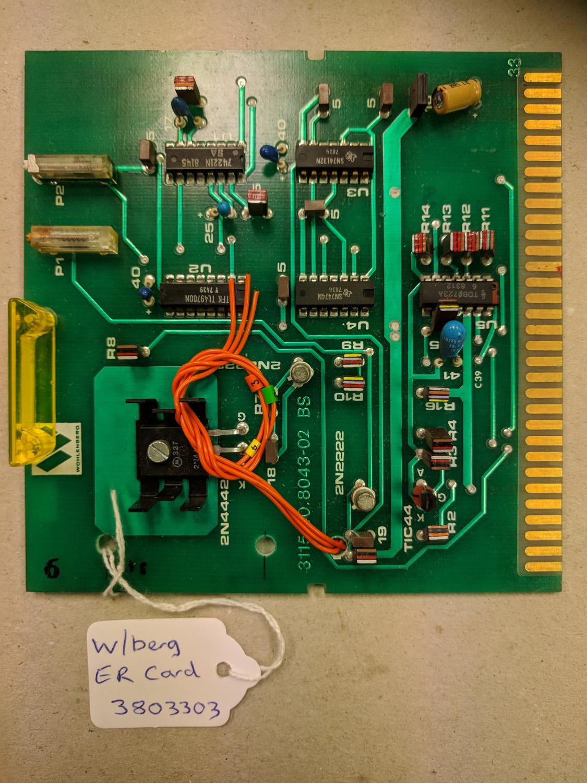 Wohlenberg ER Card