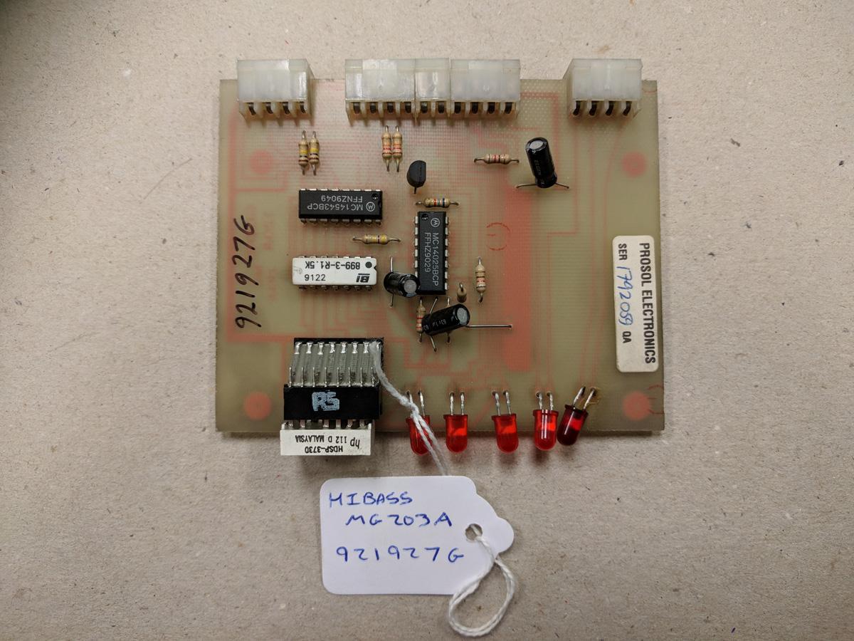 Hibass MG203A Card