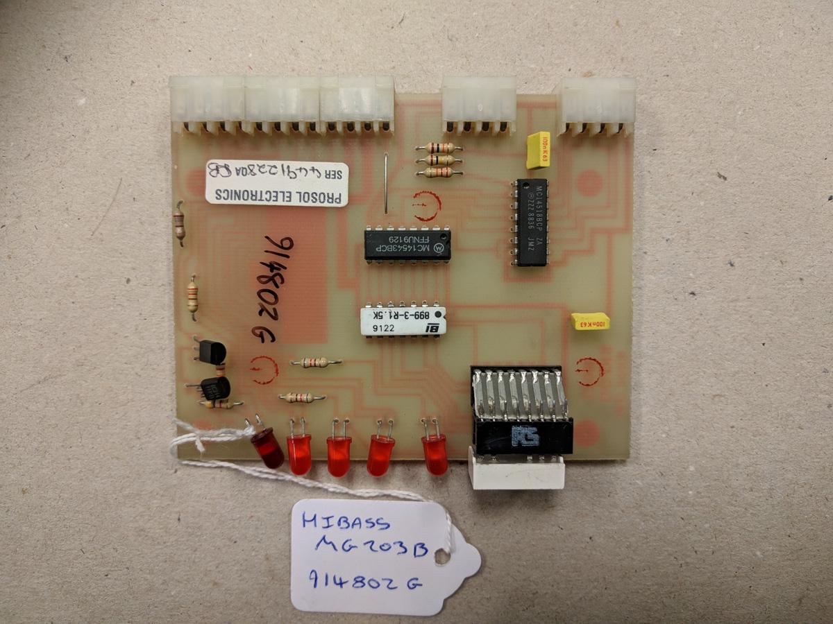 Hibass MG203B Card