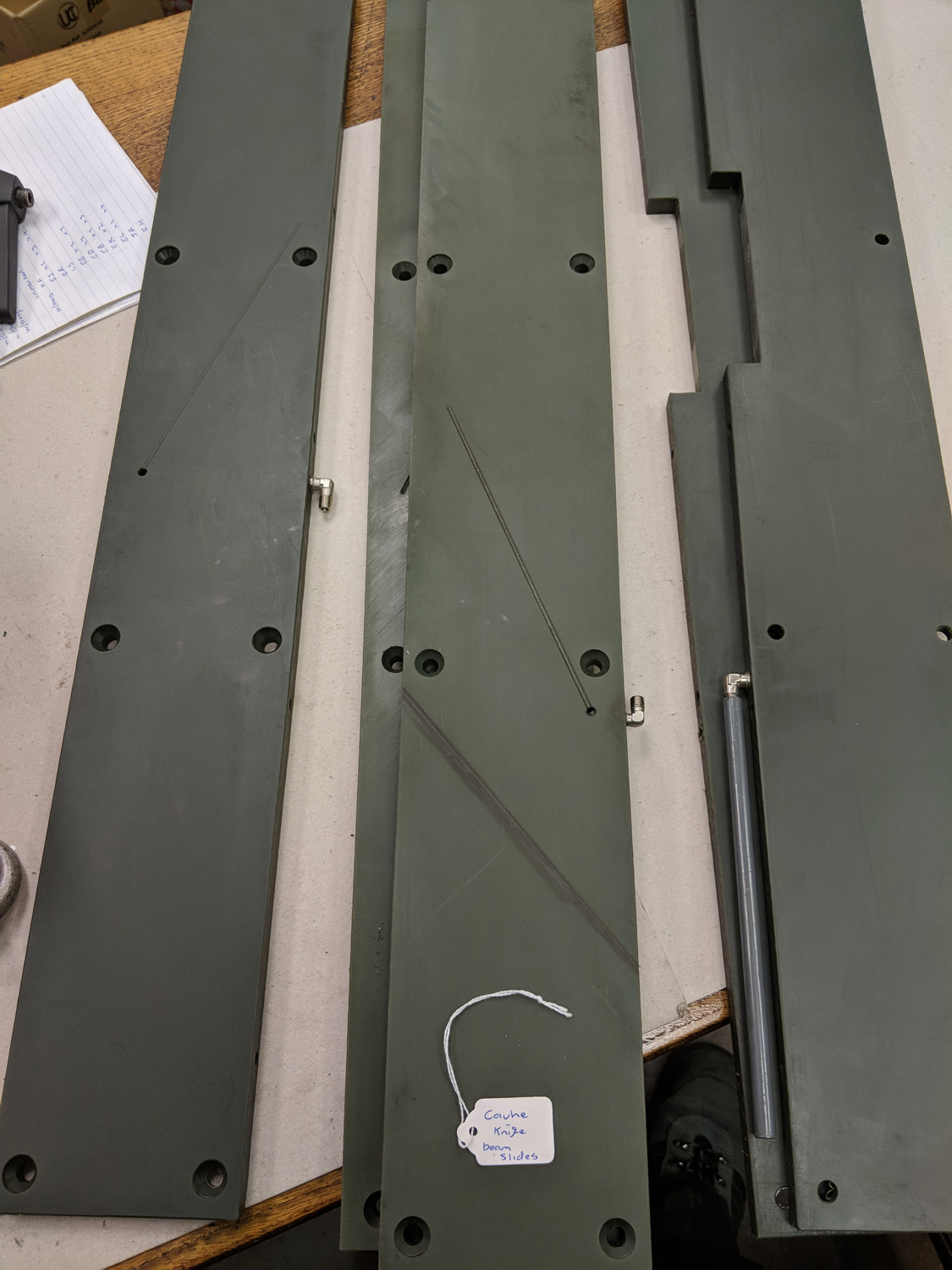 Cauhe Knife Beam Slides